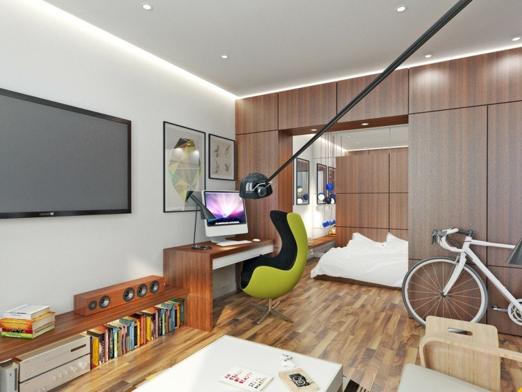 Apartamentos peque os 2 ideas inspiradoras de dise o for Colores para apartamentos pequenos