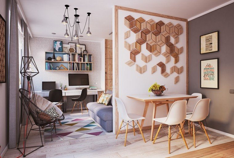 Apartamentos peque os 2 ideas inspiradoras de dise o for Decoracion interiores pisos pequenos