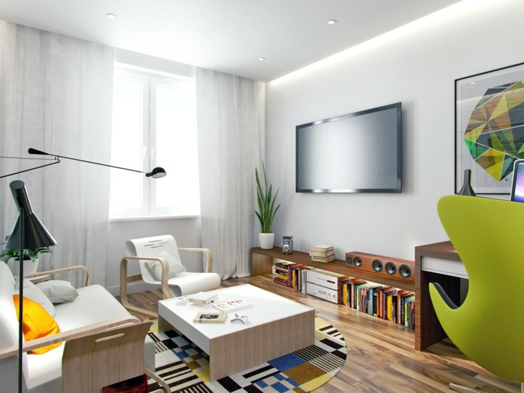 Apartamentos peque os 2 ideas inspiradoras de dise o - Muebles para apartamentos pequenos ...