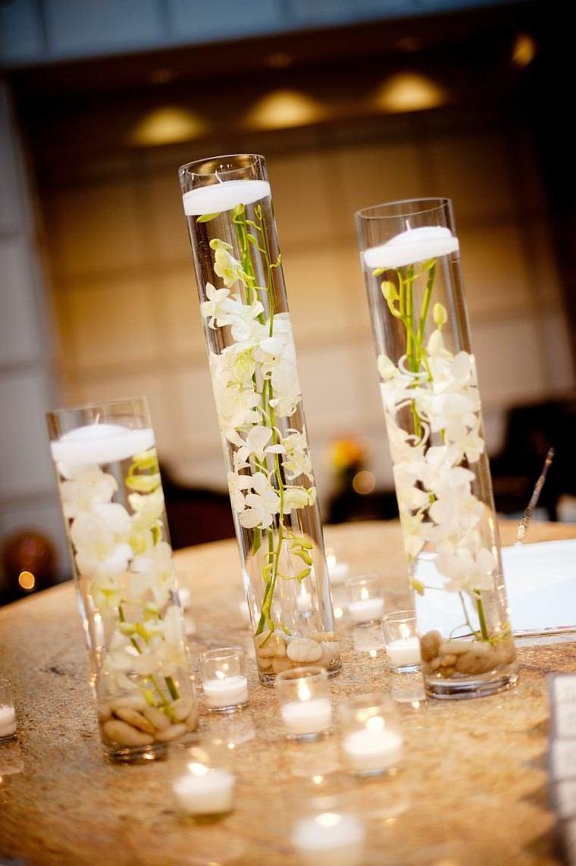 arreglos florales lujo estilo jarrones cristal moderno