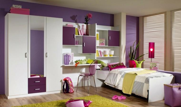 Armarios empotrados para el dormitorio del ni o for Chambre de fille moderne