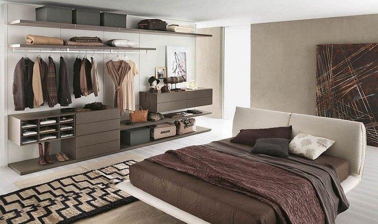 armarios diseño abierto organizados interesante modernos