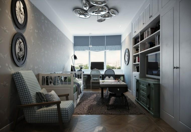 armarios empotrados habitacion larga ideas estrecha