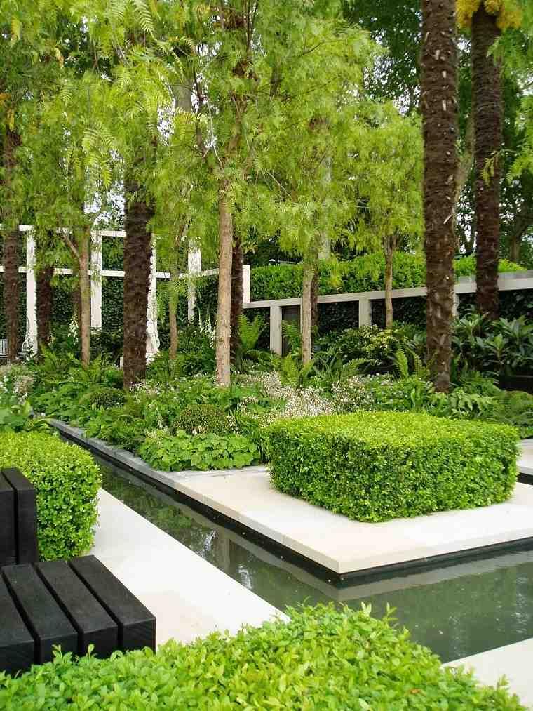 Arquitectura y dise o de jardines modernos for Fotos jardines exteriores