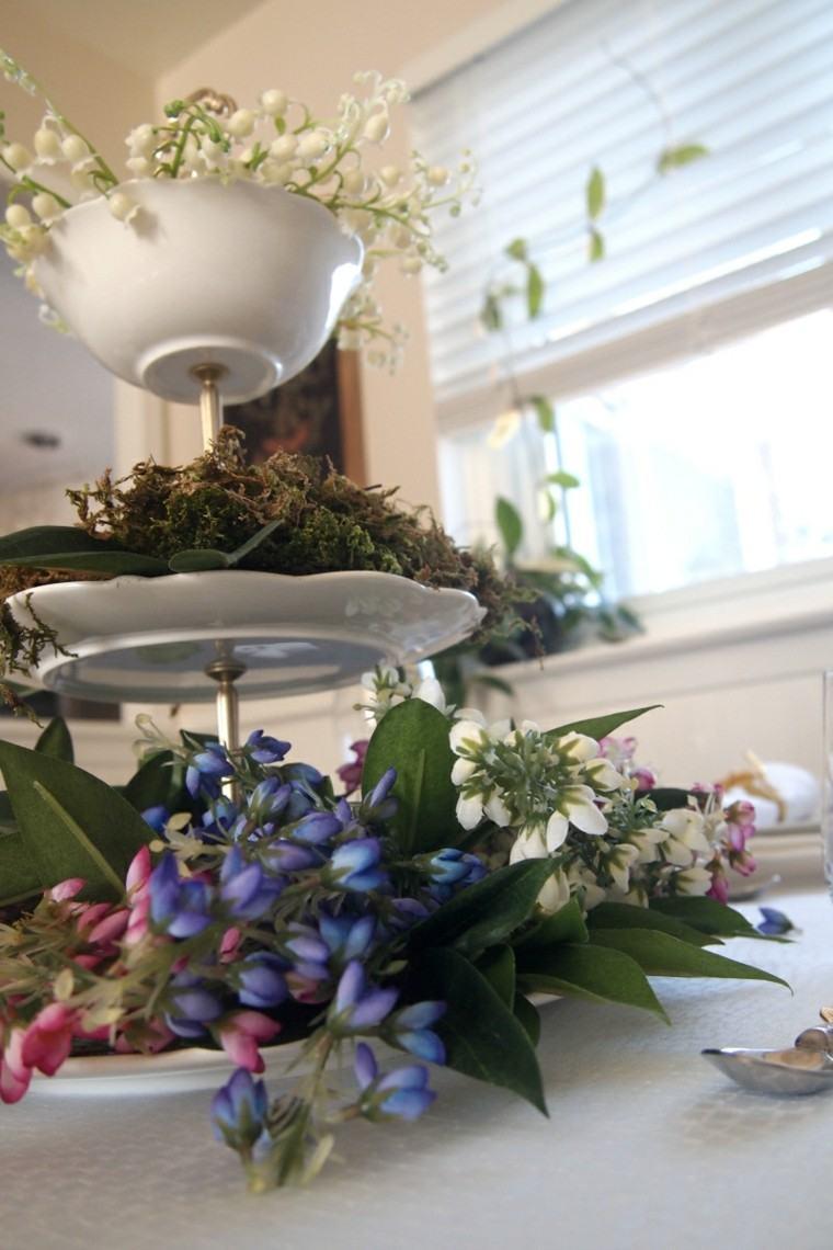 arreglos florales creativos primavera casa