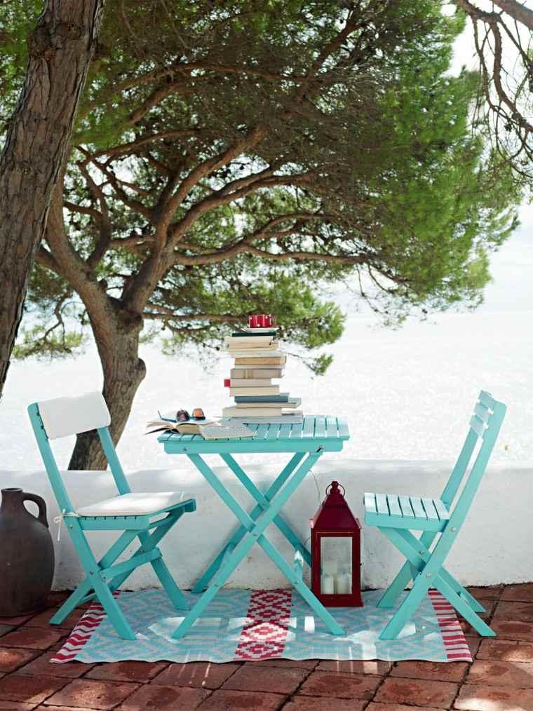 azul claro alfombra idea original bonita modernos