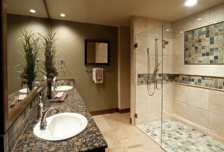 azulejos baño suelo pared mosaicos