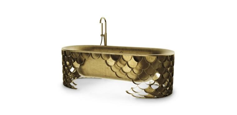 bañera modelo koi de lado