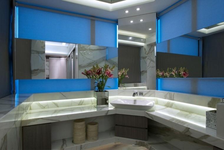 Iluminaci n led 75 ideas incre bles para el hogar - Decoracion led hogar ...
