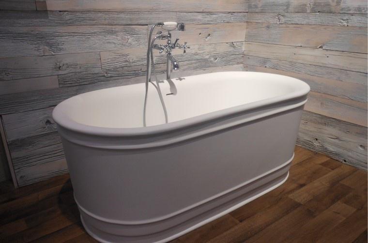 baño madera idea orginal moderna interesante