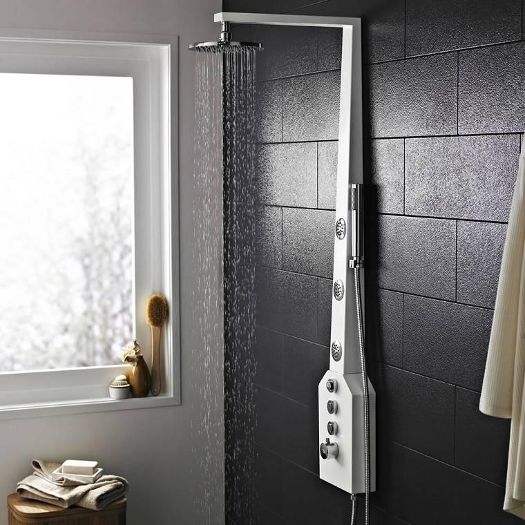 decoración baño moderno ducha ideas bonitas originales