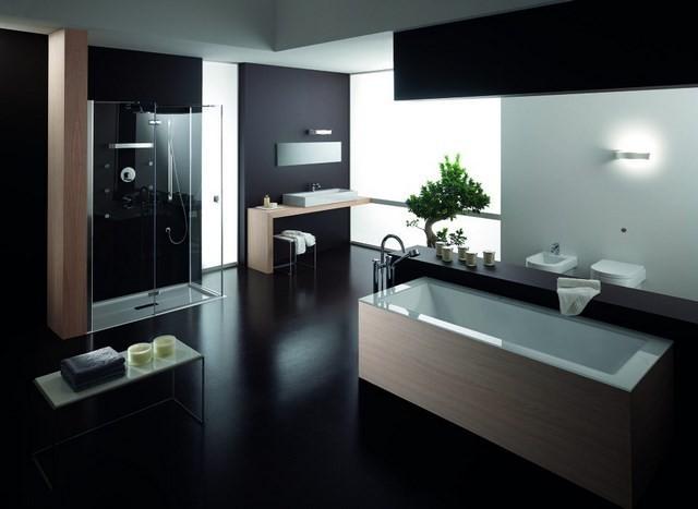 baño plantas bañera led moderno diseño