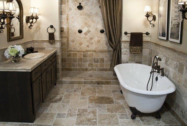 baño estilo rustico muebles baratos