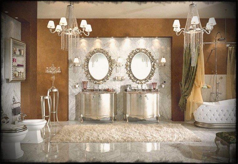 Accesorios ba o iluminado con elegancia y estilo - Lampara para espejo de bano ...