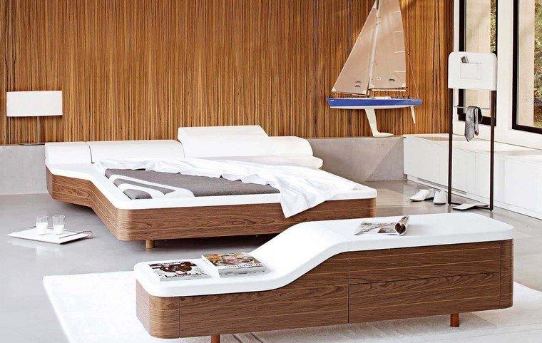 barco moderno decoracion vasos texturas