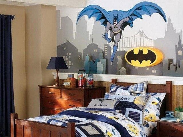batman ideas decoración heroes muebles