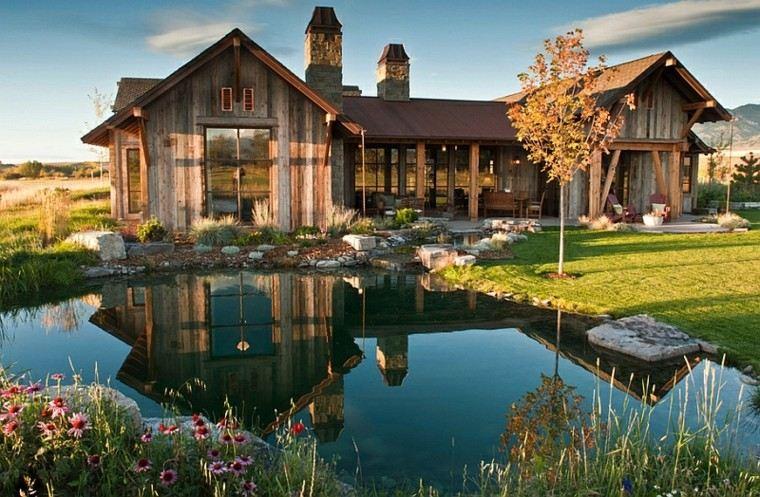 bio piscina casa grande estanque