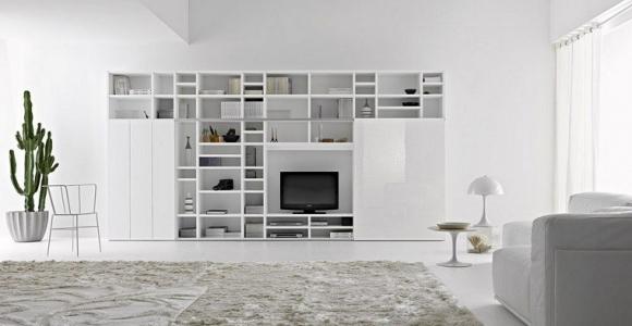 Muebles tv y bibliotecas para el salón o sala de estar