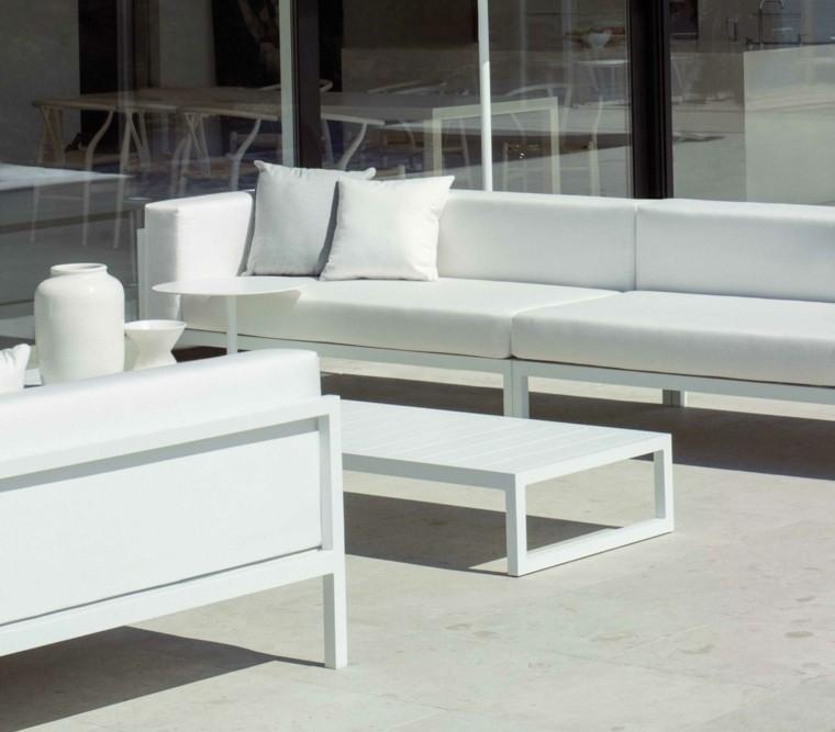 blanco moderno muebles diseño blanco