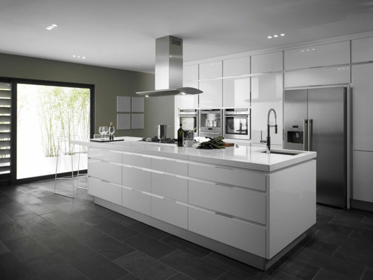 blanco negro contemporanea diseño gris