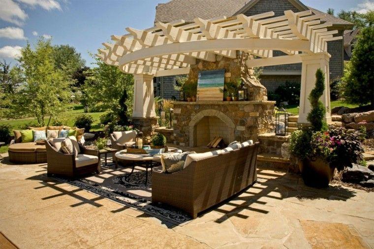 Pergolas jardin de madera una zona de recreo ideal for Award winning patio designs