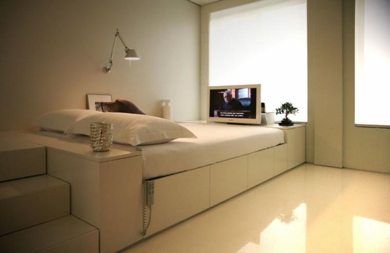 bonito dormitorio estilo minimalista beige