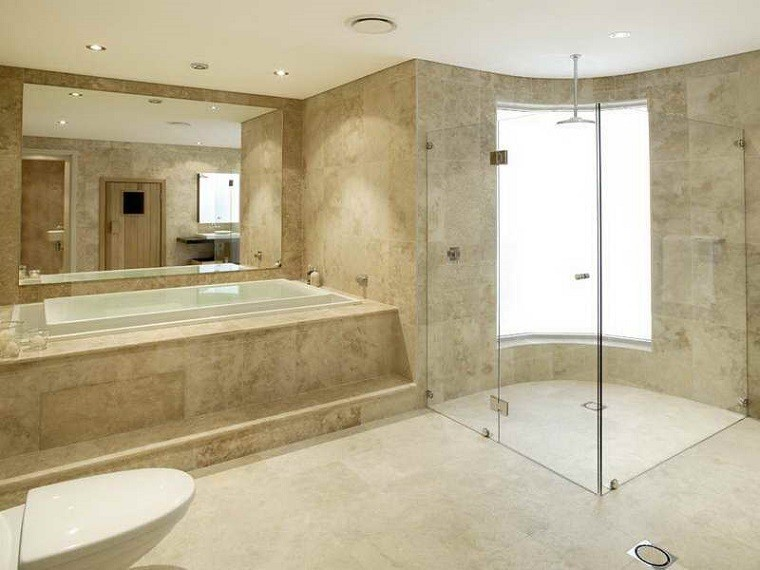 Azulejo Para Baño Beige:Azulejos para baño de estilo clásico