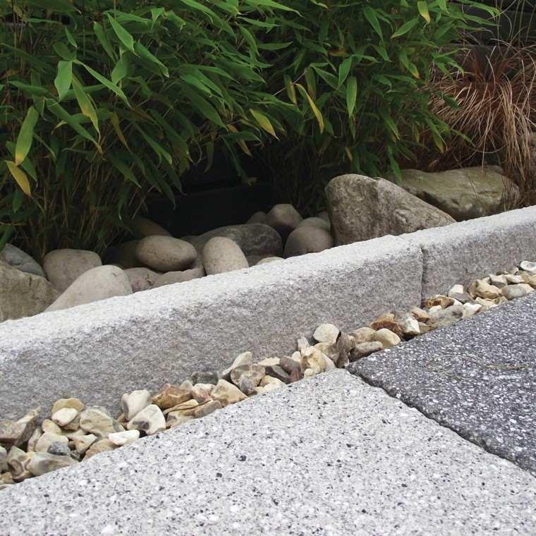 bordes camino jardin piedras rocas - Piedras Jardin