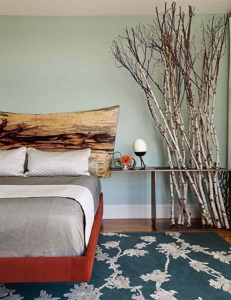 cabeceros de cama estilo contemporaneo madera moderno