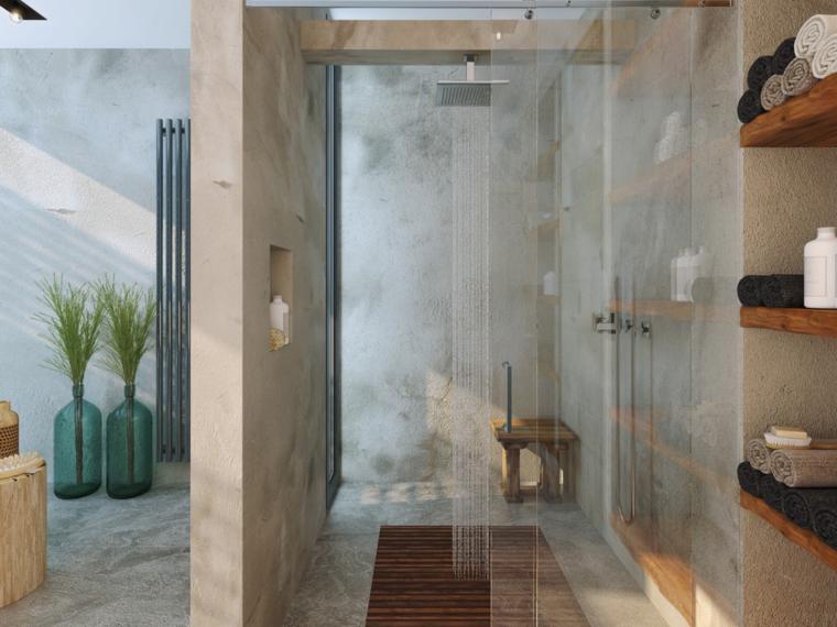 cabina ducha muebles baño modernos