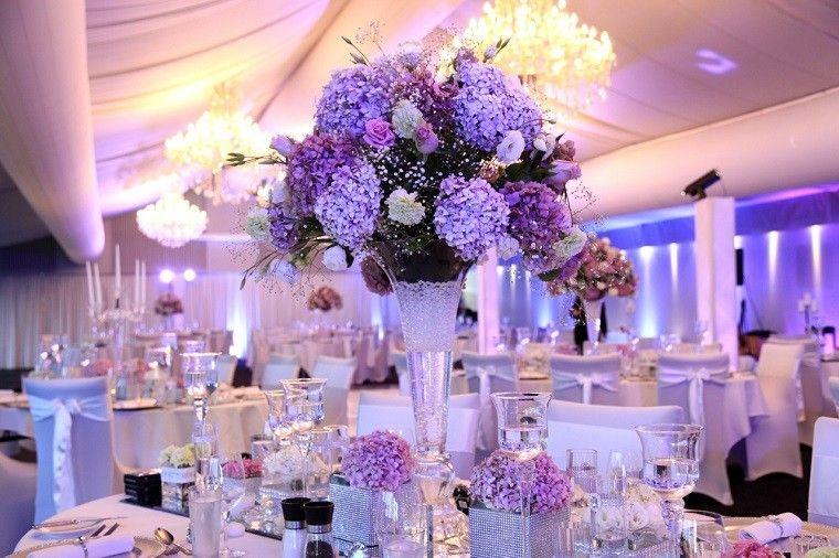calido boda flores rosas luces boda