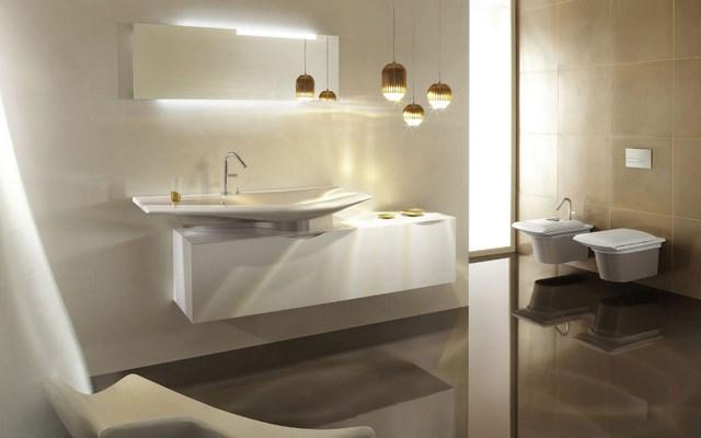 calido lamparas moderno brillo lavabo diseño