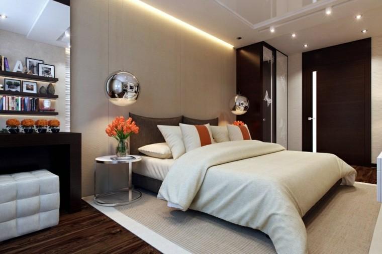 Habitaciones modernas para solteras y solteros - Habitaciones color beige ...
