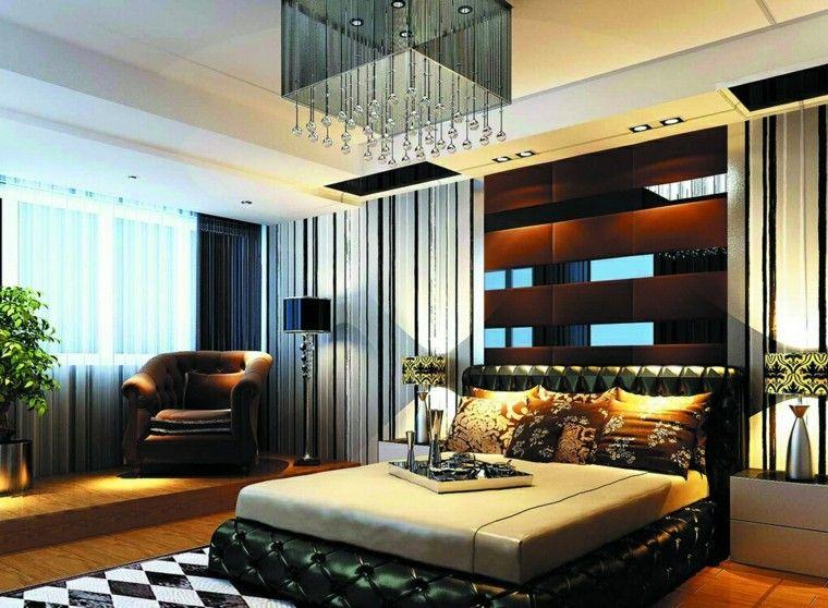 cama capitone verde estilo lujoso