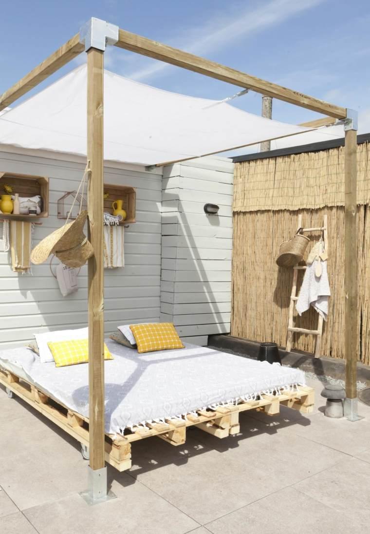 estupendas camas de jardin