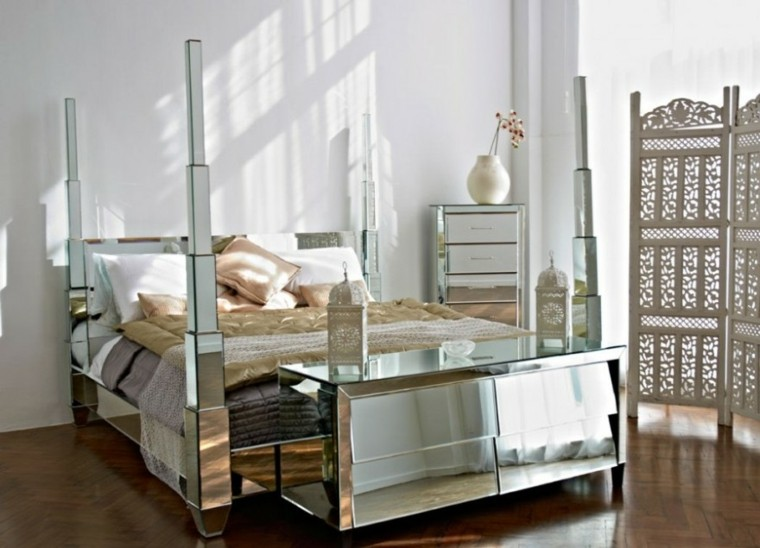 mirrored glass bedroom furniture espejos decorativos para dise 241 os de muebles 16208