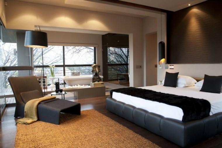 Habitaciones modernas para solteras y solteros for Matrimonial bedroom design