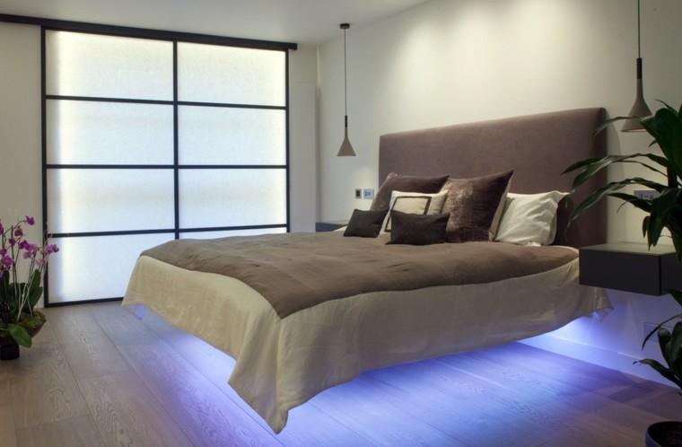 Habitaciones modernas para solteras y solteros for Cama voladora