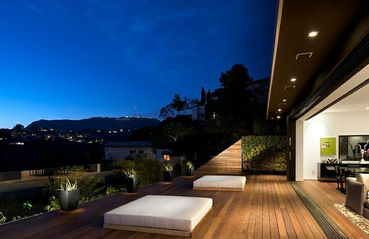 camas de jardín colchones terraza