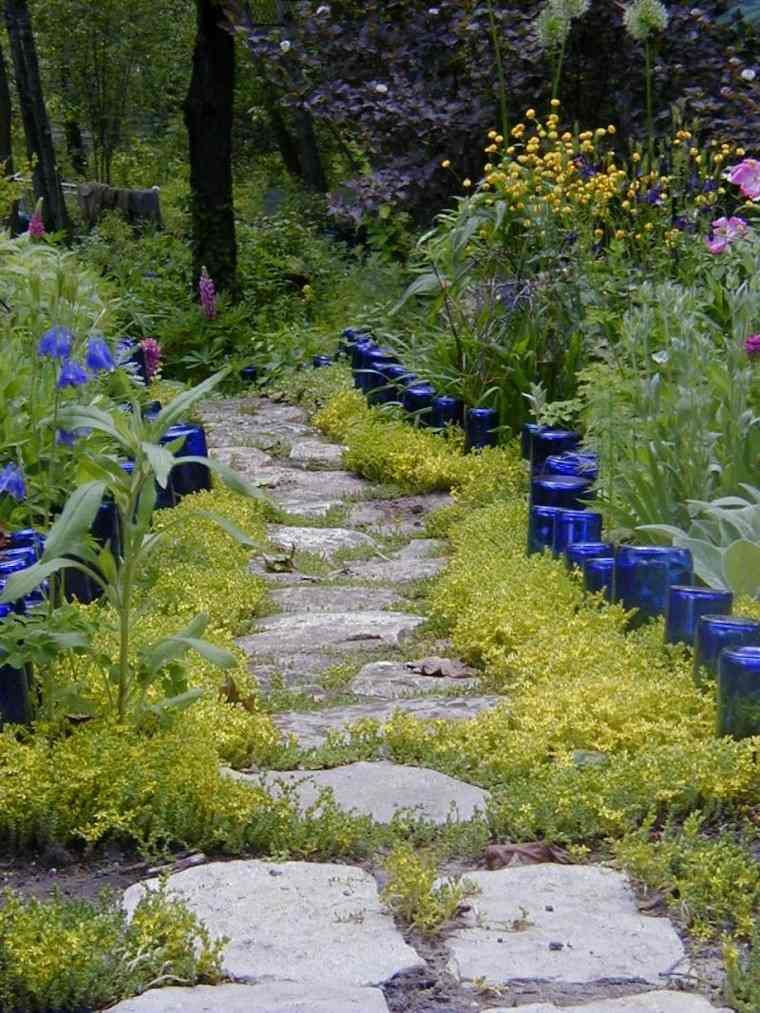 camino diy envases flores ideas creativas