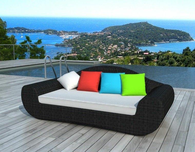 Canapes sof s y sillones de exterior para el jard n - Sillones para jardin exterior ...