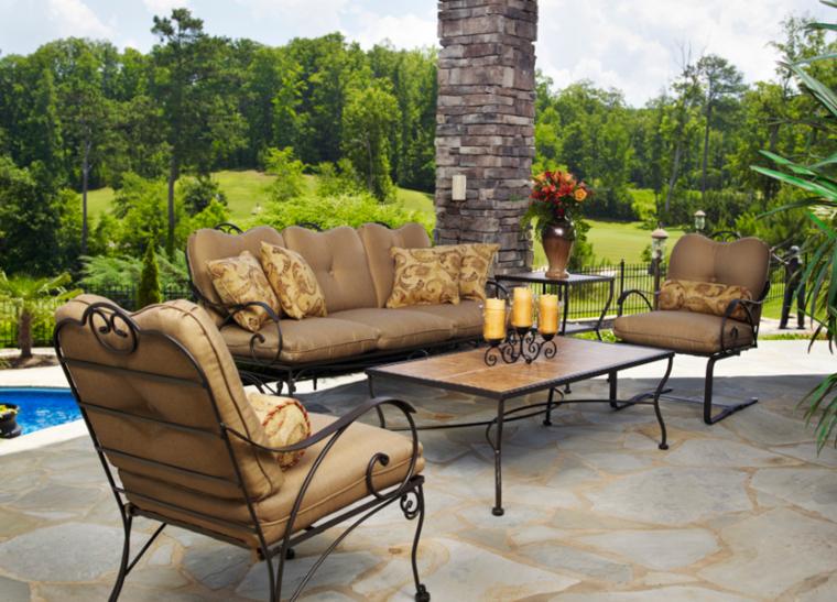 Canapes sof s y sillones de exterior para el jard n for Sillones para jardin