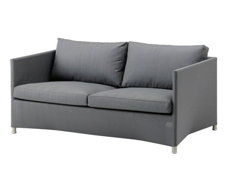 cane line color gris sofas