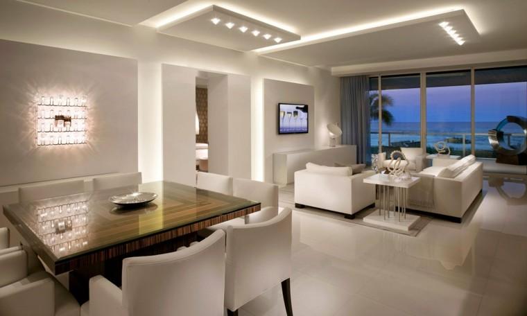 Iluminaci n led 75 ideas incre bles para el hogar - Luz led casa ...