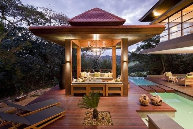 Inspiraci n zen para las casas de dise o oriental for Casa minimalista japonesa