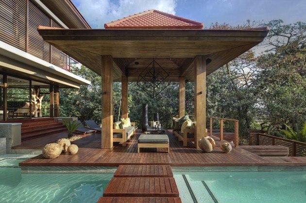 Inspiraci n zen para las casas de dise o oriental for Pagoda house plans