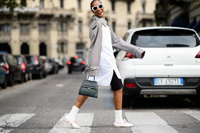 casual playeras chaqueta gris