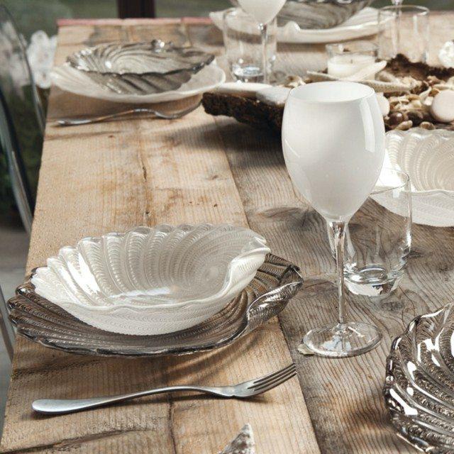 Cenas de lujo en vajillas de dise o clasico o vintage - Vajillas de cristal ...