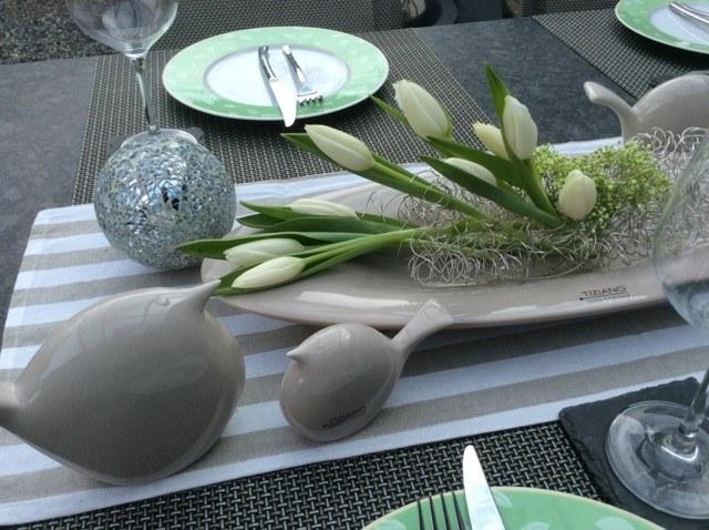 centro mesa estilo moderno original ideas