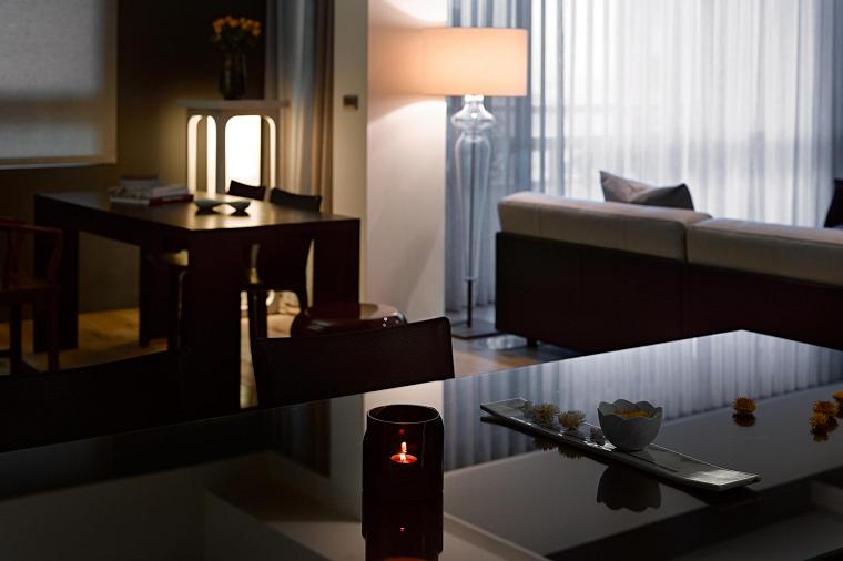 centro mesa ideas interior asiatico moderno original diseño